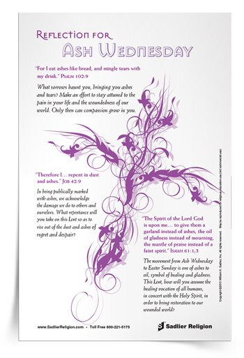 <em>Ash Wednesday</em> Reflection