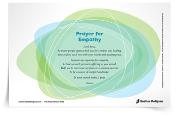 <em>Prayer for Empathy</em> Prayer Card