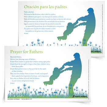 <em>Prayer for Fathers</em> Prayer Card
