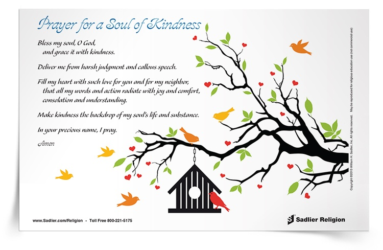 <em>Prayer for a Soul of Kindness</em> Prayer Card