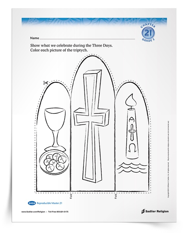 photograph relating to Holy Week Activities Printable referred to as Prepare Youngsters above the Easter Triduum