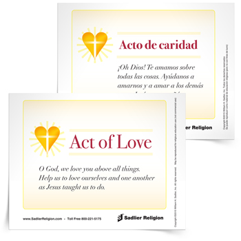 <em>Act of Love</em> Prayer Card