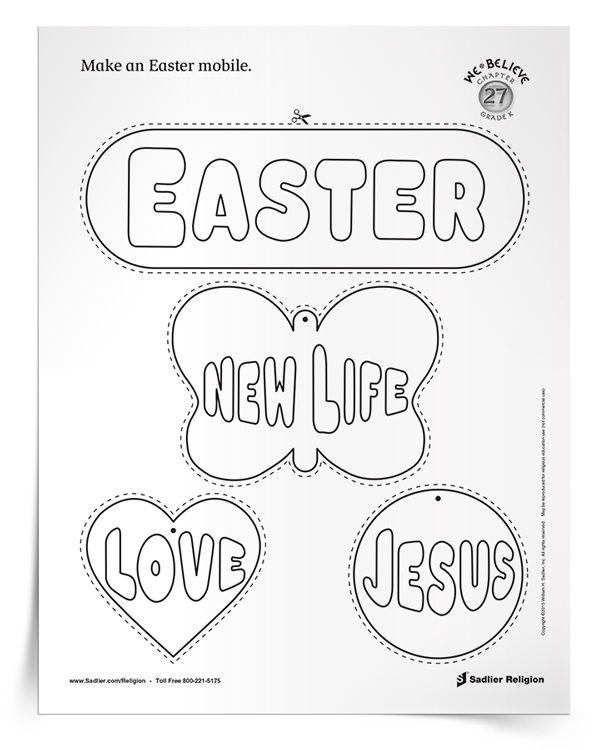 <em>Easter Mobile</em> Activity