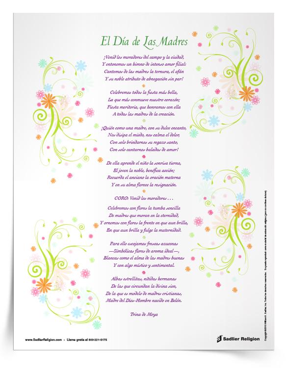 Folleto <em>Himno a las Madres</em>
