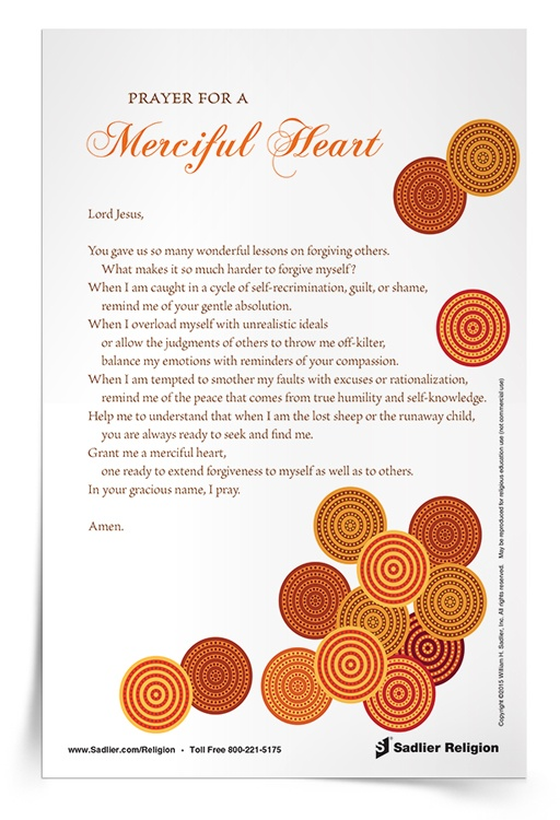 <em>Prayer for a Merciful Heart</em> Prayer Card