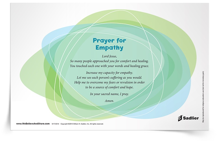 Download my Prayer for Empathy and use it to heighten your imagination around the lives of those who face pain, suffering, and other hardships.