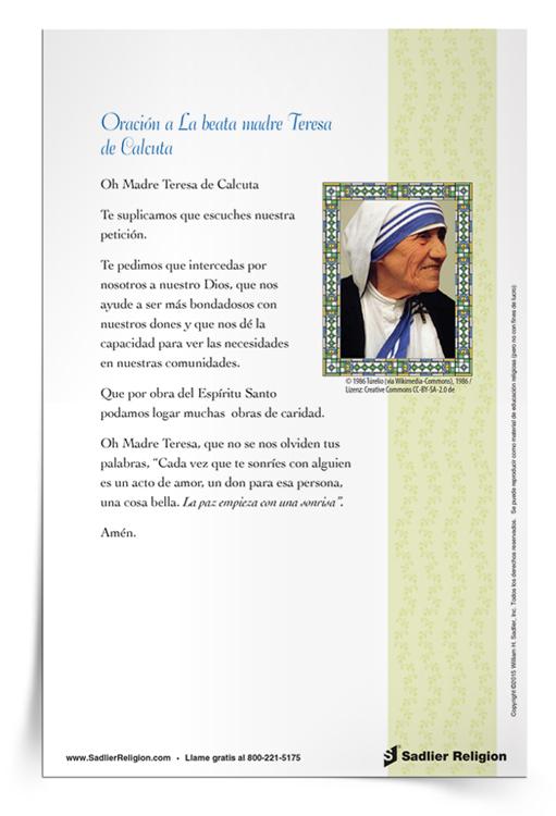 Folleto-Oración-a-La-beata-madre-Teresa-de-Calcuta