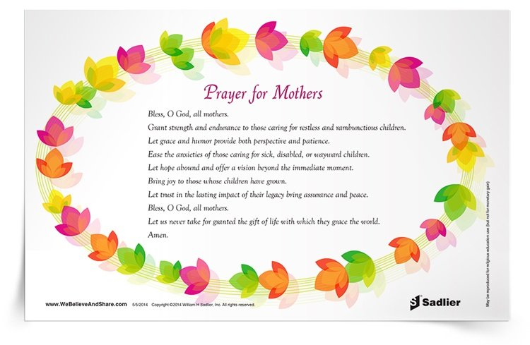 <em>Prayer for Mothers</em> Prayer Card