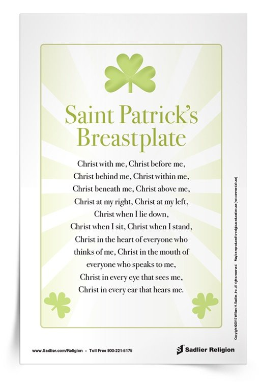<em>Saint Patrick's Breastplate</em> Prayer Card