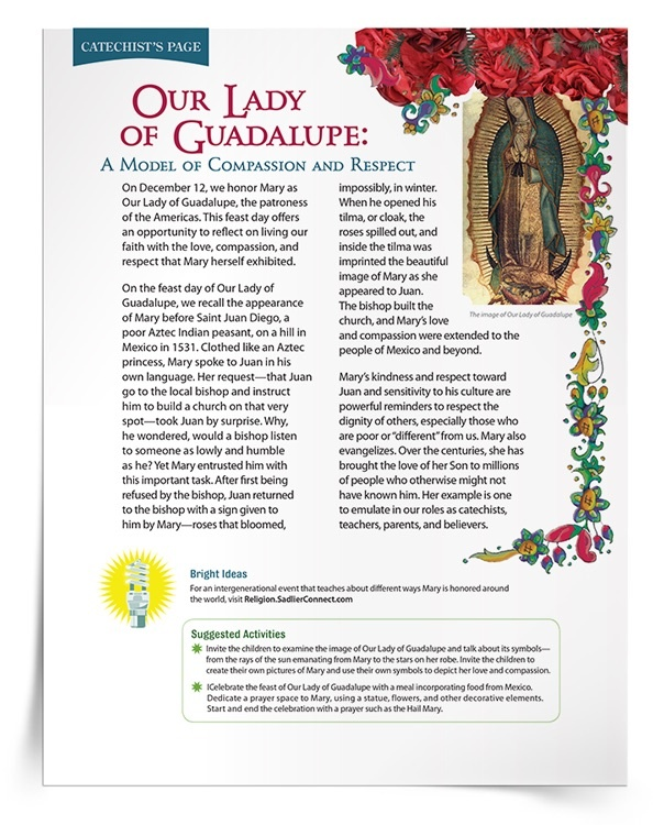 <em>Our Lady of Guadalupe</em> Lesson