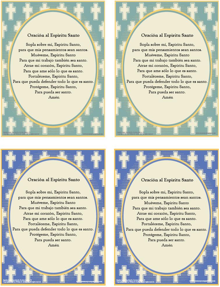 De oraci 243 n y 250 selas en su hogar o su parroquia las tarajetas de