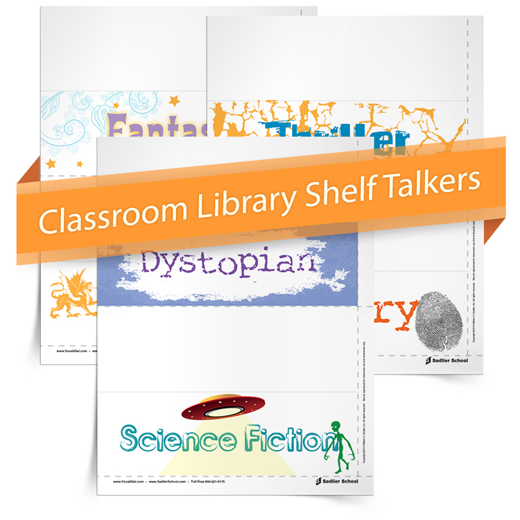 <em>Classroom Library Shelf Talkers</em>