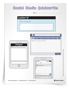 <em>Social Media Quickwrite</em>