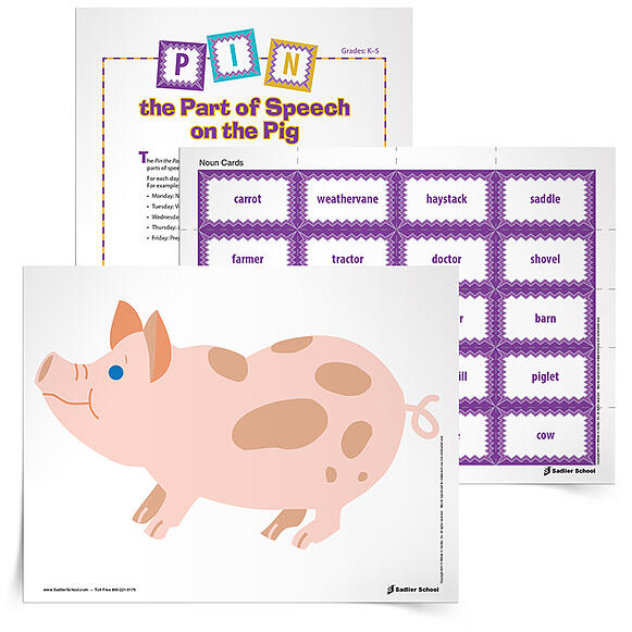 When you download the Pin the Part of Speech on the Pig Game, your students will get much more practice than is deemed important in state standards! This game is not only a creative way to teach parts of speech, but it gets students up and moving while they learn.