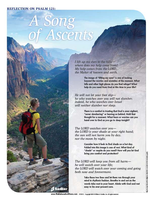<em>Psalm 121: A Song of Ascents</em> Reflection