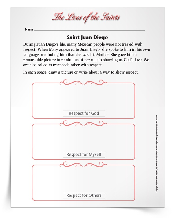 <em>Saint Juan Diego</em> Activity