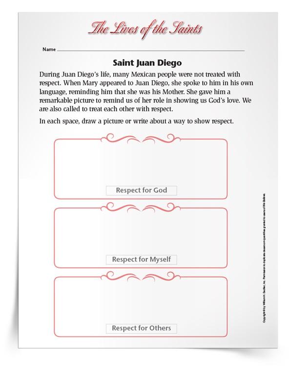 Saint-Juan-Diego-Activity