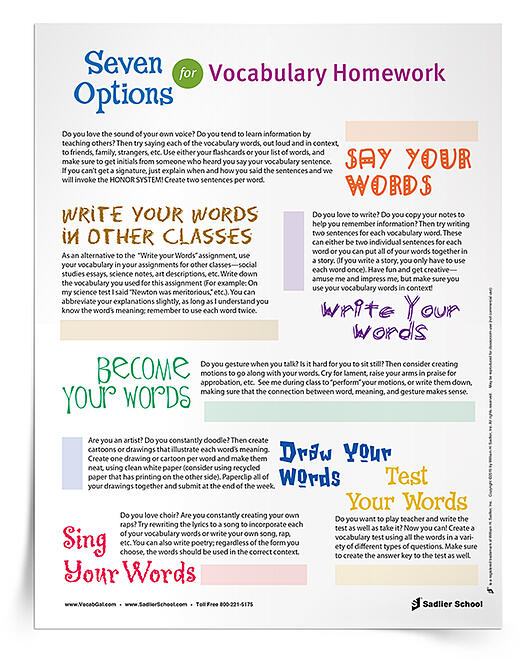 creative writing vocabulary list Start studying intro to creative writing vocabulary list learn vocabulary, terms, and more with flashcards, games, and other study tools.