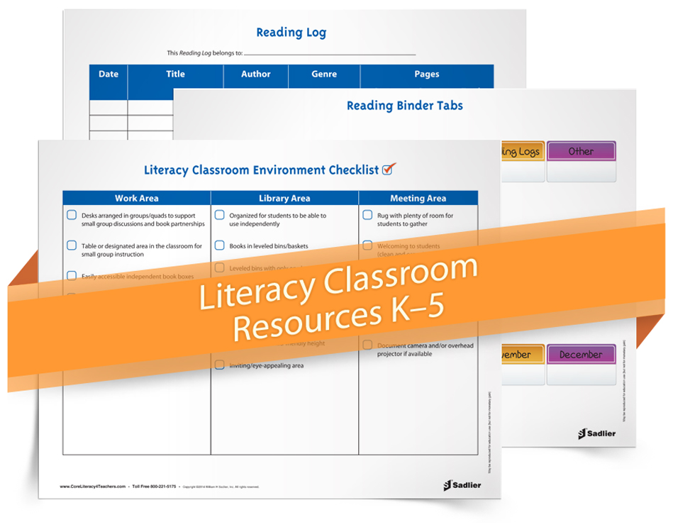 <em>Literacy Classroom Resources</em> Bundle