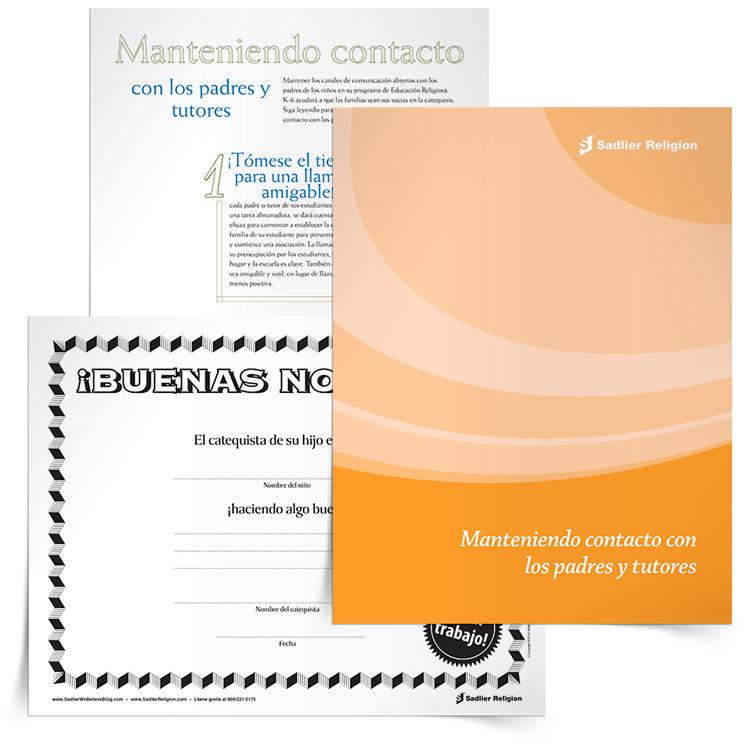Libro electrónico <em>Manteniendo contacto con los padres y tutores</em>