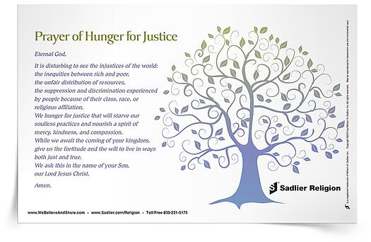 Diversity Resources - Prayer of Hunger for Justice