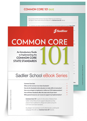 Common Core 101 eBook