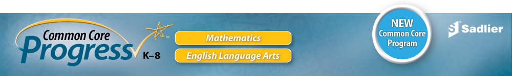 Common Core Progress -- Mathematics and English Language Arts