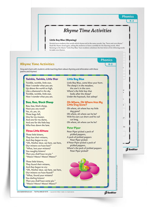 Rhyme-Time-Phonics-Activity
