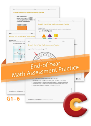 <em>End-of-Year Math Assessment Practice by Grade Level</em>