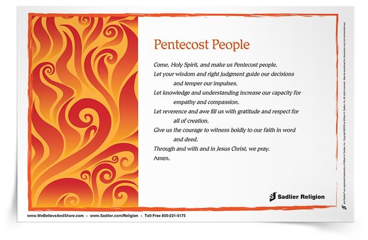Pentecost Activities For Catholic Children Students