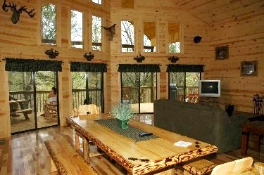 Top 3 reasons why winter in the georgia cabins rocks - The wood cabin on the rocks ...