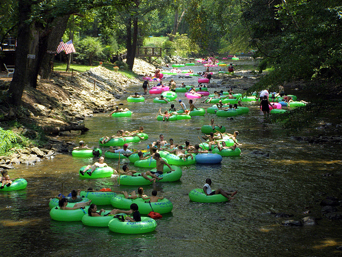 Ginnie Springs Cabin Rentals Things To Do Rum Island