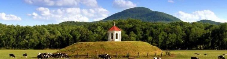 Nacoochee Mound in Sautee Nacoochee, Georgia