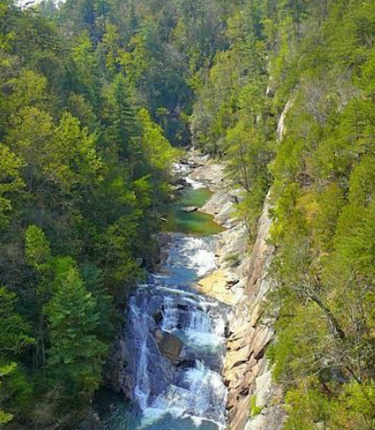 Hiking The Tallulah Gorge State Park And Seeing The Tallulah