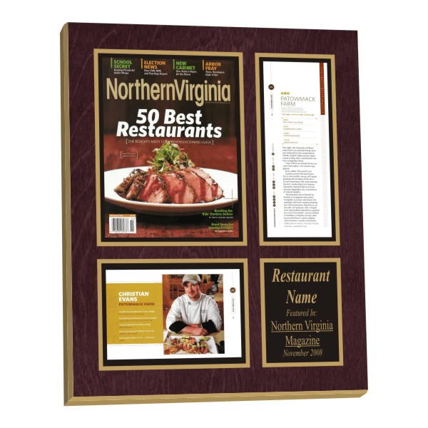 Restaurant Plaque