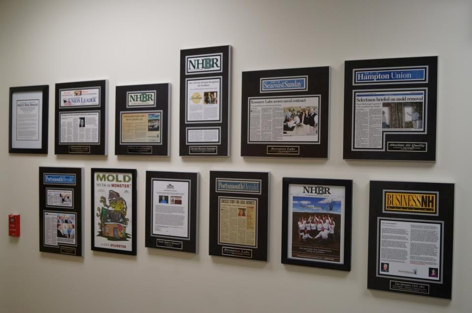 how to display newspaper or magazine articles with frames