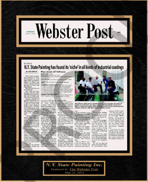 newspaper frames, framing newspaper articles, framed newspaper article