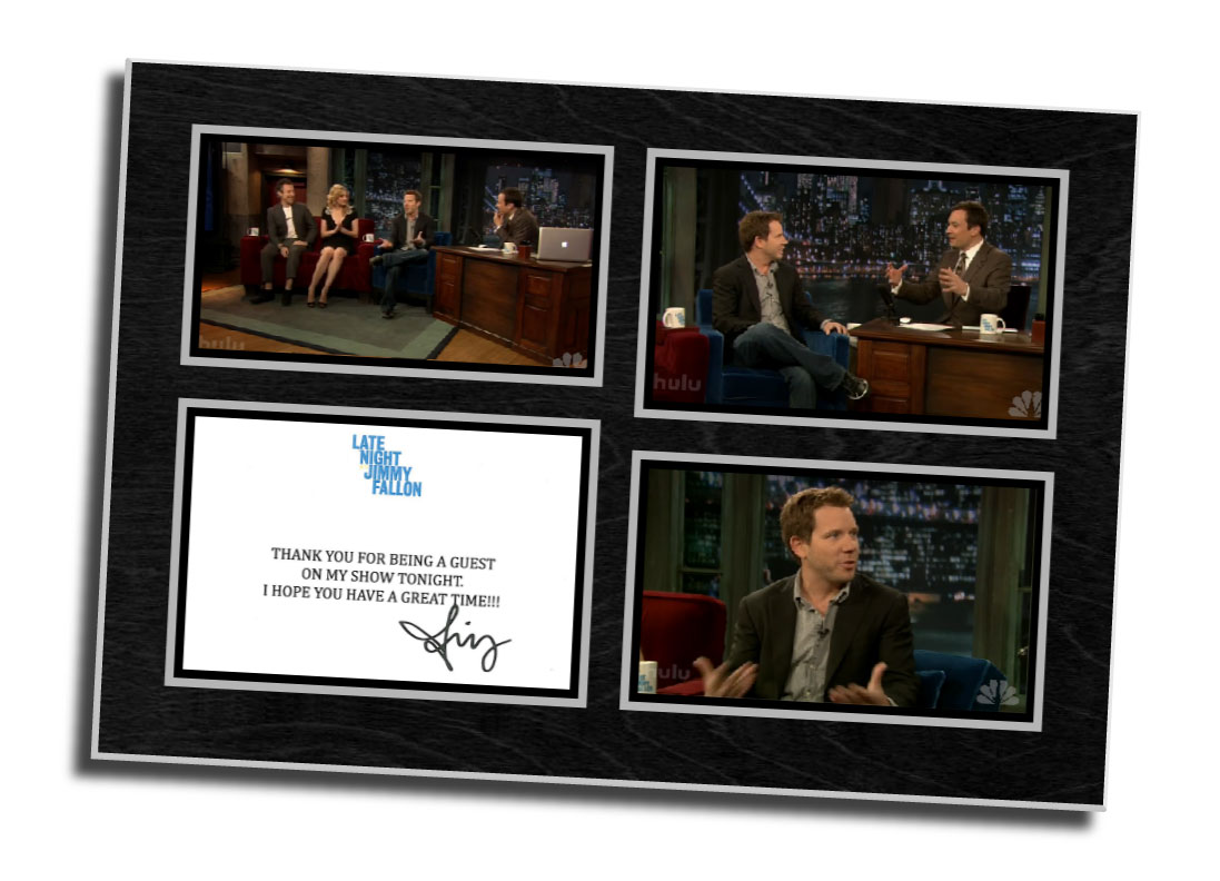 Late night Jimmy Fallon,digital photo,screen capture,
