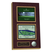 hole in one plaque, hole in one, order hole in one plaues