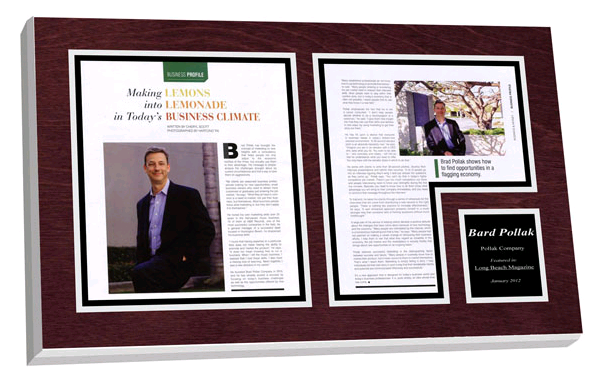 5 tips for displaying framed article plaques