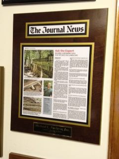 newspaper plaque, newspaper plaques, wall plaques, news article plaque