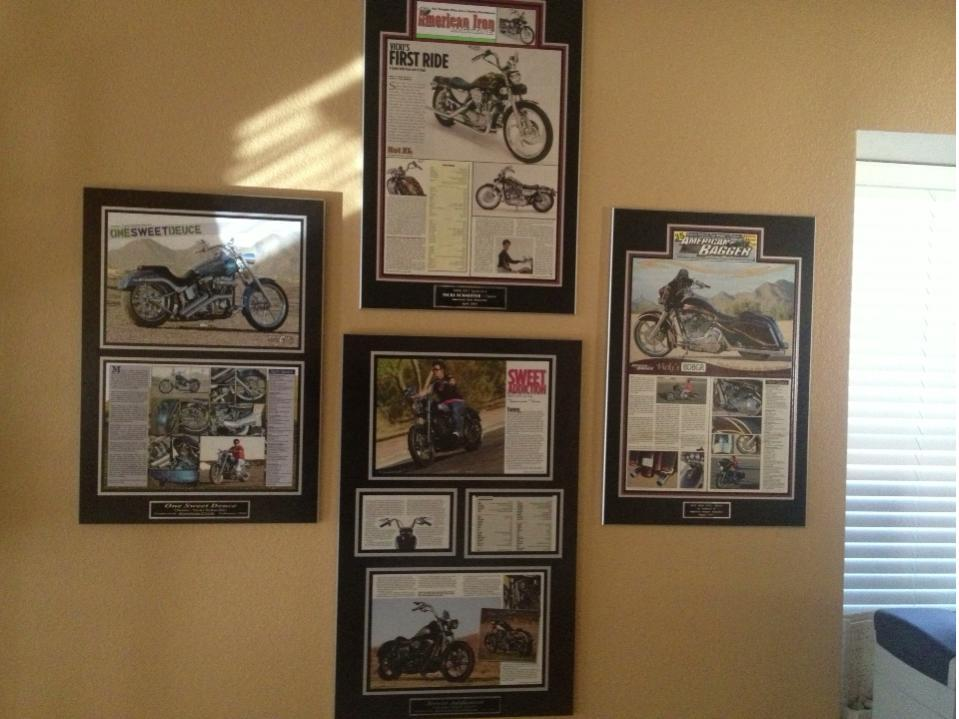 Articles published, framed magazine articles, magazine framing, published articles