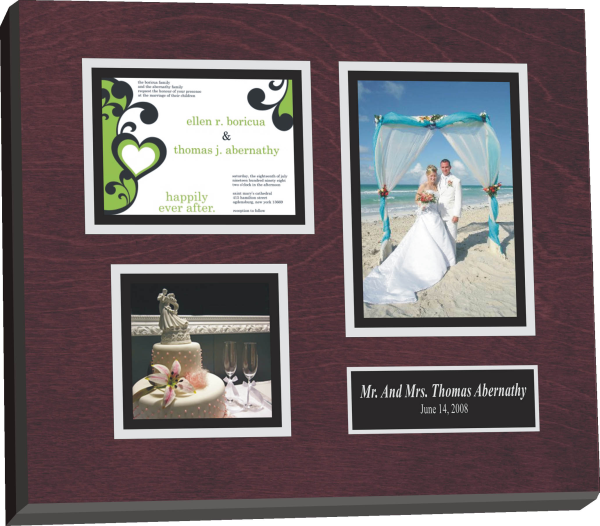Wedding Invitation Plaque A Lasting Memory Of Your Wedding Day