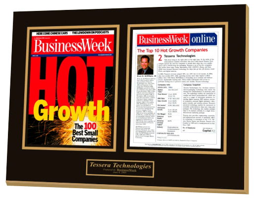 BusinessWeek magazine Hot Growth list for businesses making moves and growing