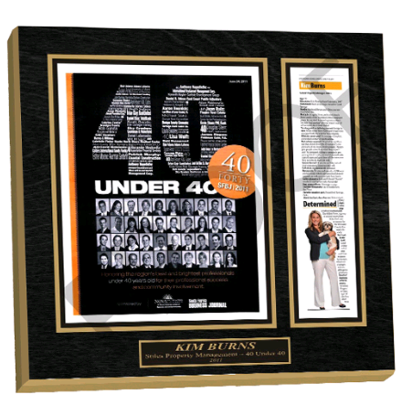 achievement plaque, award plaque, newspaper plaque, frame newspaper article