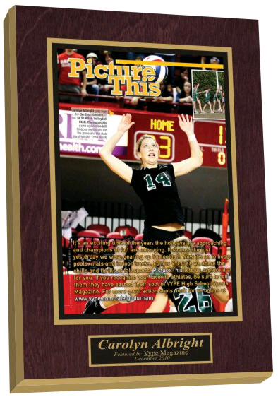 high school sports plaque, framed newspaper article, newspaper frame