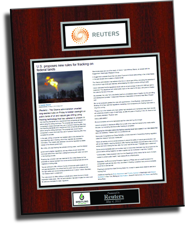 press release, news release, frame news release, framed news release