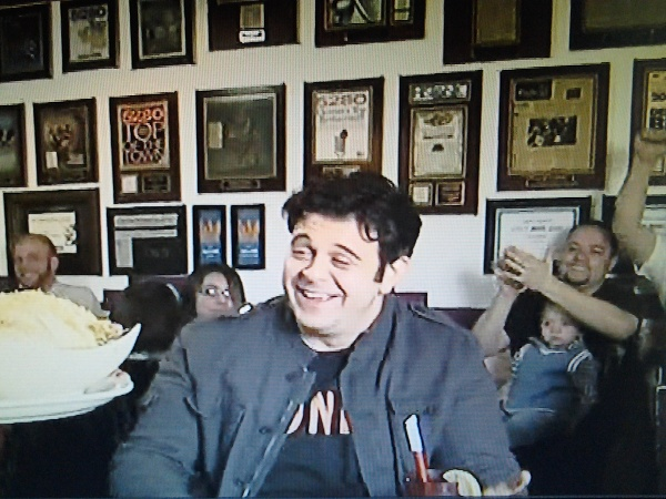 Our plaques as seen on Man vs Food on the Travel Channel