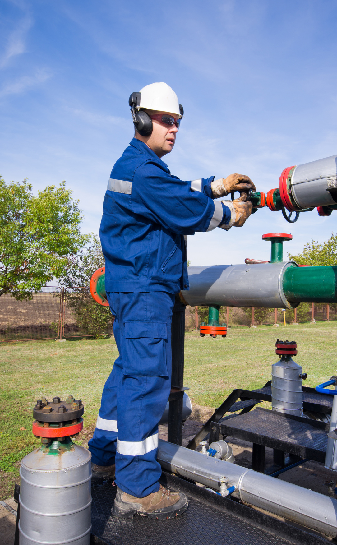 Atmos employees work with a variety of equipment to ensure that they can be ready for almost anything in the field