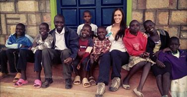 Britnie and ADG work hard to help those who need help the most by supporting orphanages in Africa.
